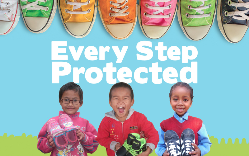 Every step protected