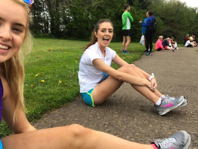 Glenabbey teams run Belfast City Marathon