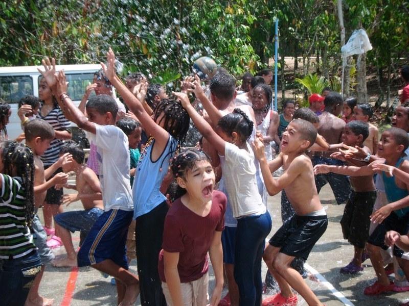 A super fun children's camp for the Eva Russell School