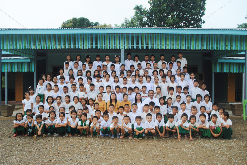 New school opens in Tamu, Burma
