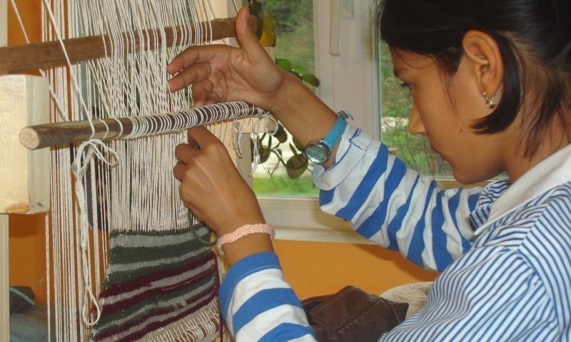 Weaving stars