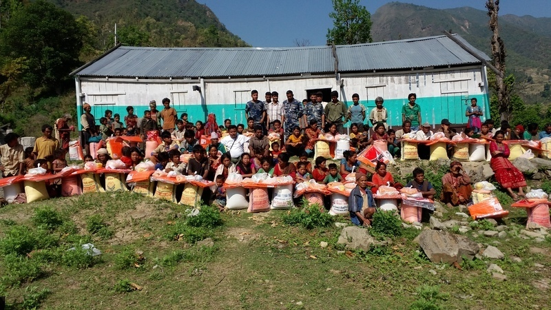 Reaching the people of Nepal with urgent relief
