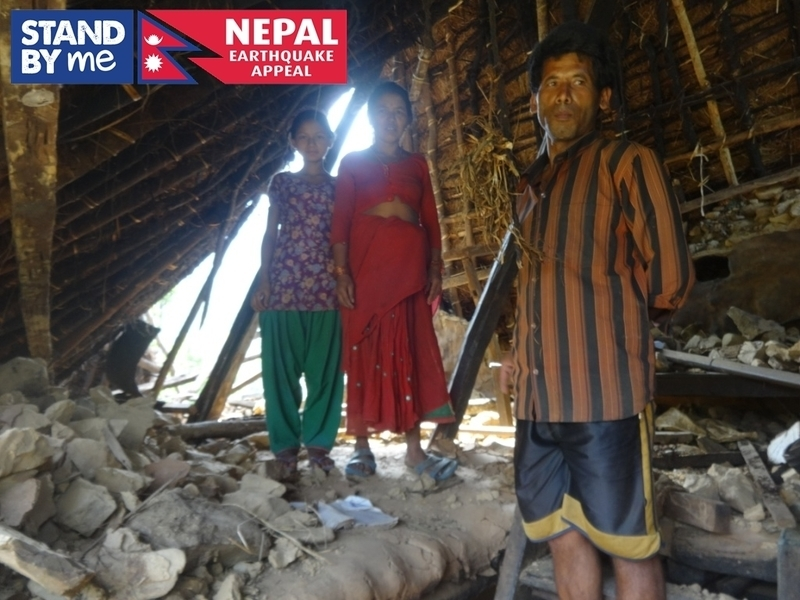 Building homes in Nepal