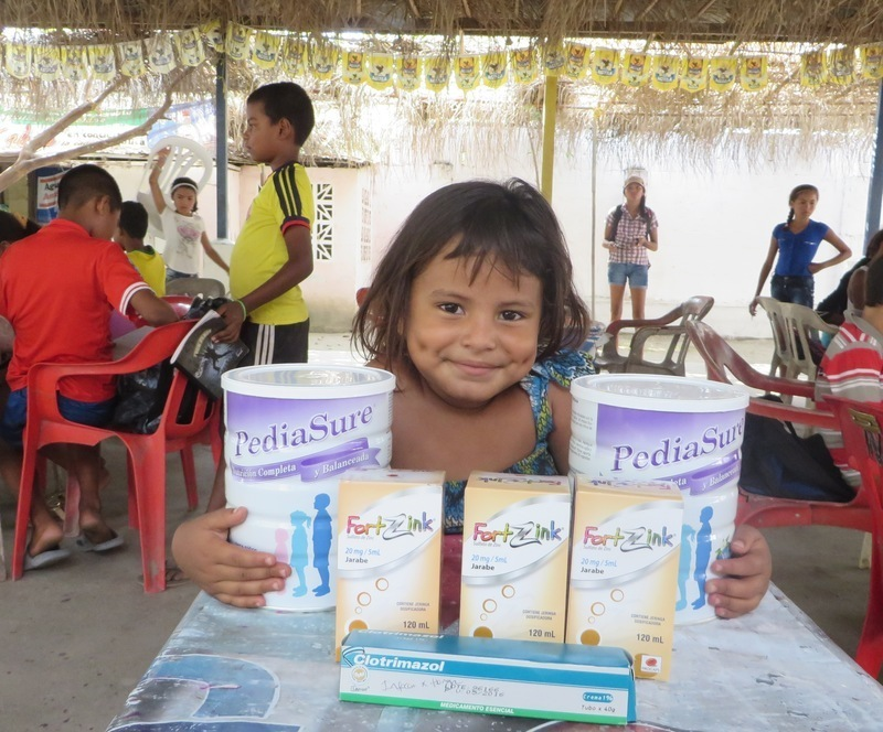 Enhanced health of our kids in Colombia