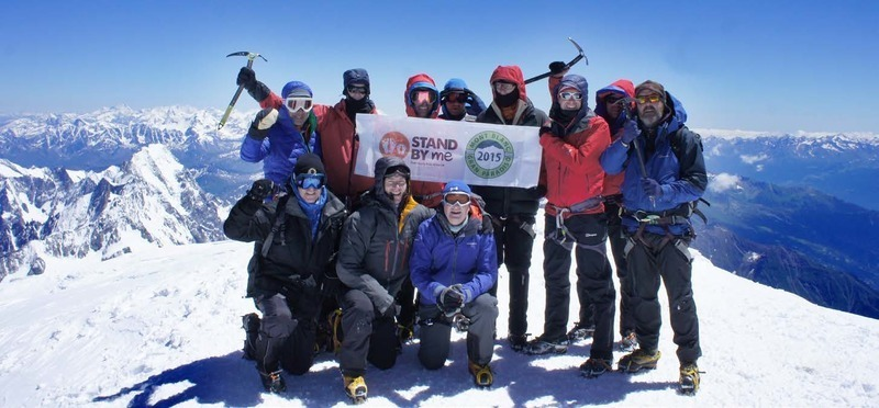 Conquering Mont Blanc for kids in Colombia