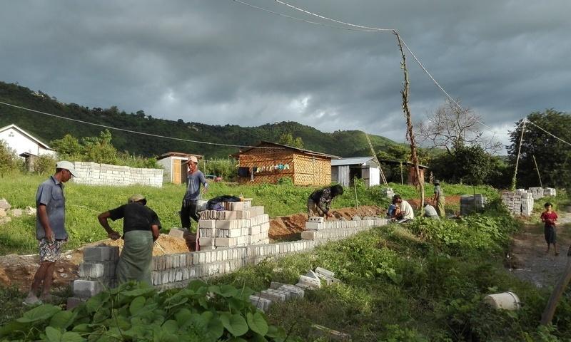 Building has begun in Shan